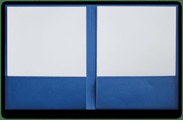 Custom professional presentation folders