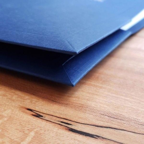 high end two pocket presentation folders