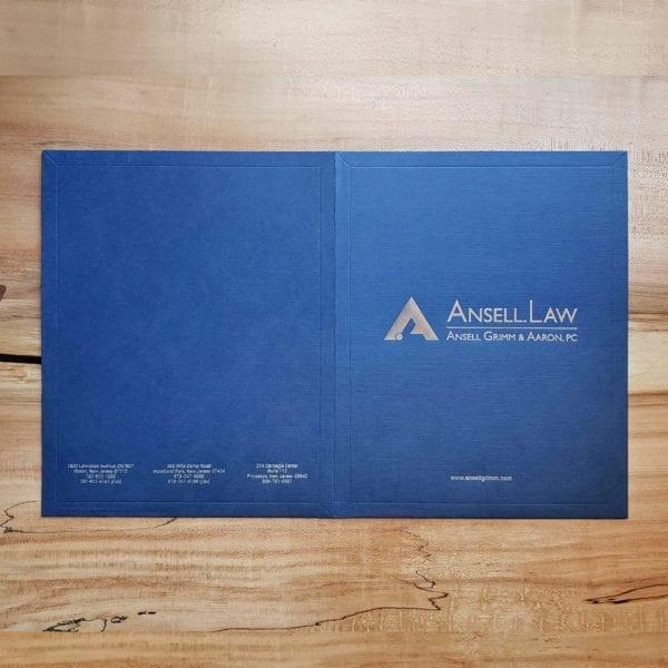 custom luxury presentation folders
