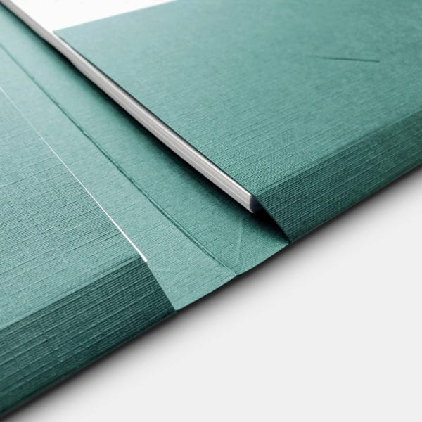 high quality two pocket professional presentation folder