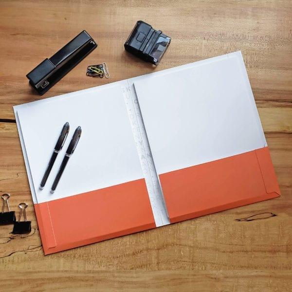 High quality twin pocket folder