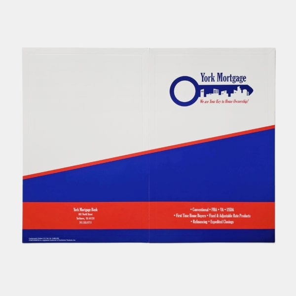 Custom presentation folders with logo