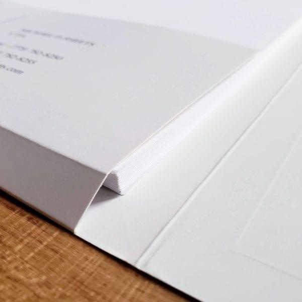 high-end custom tax folder