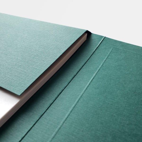luxury linen business folders