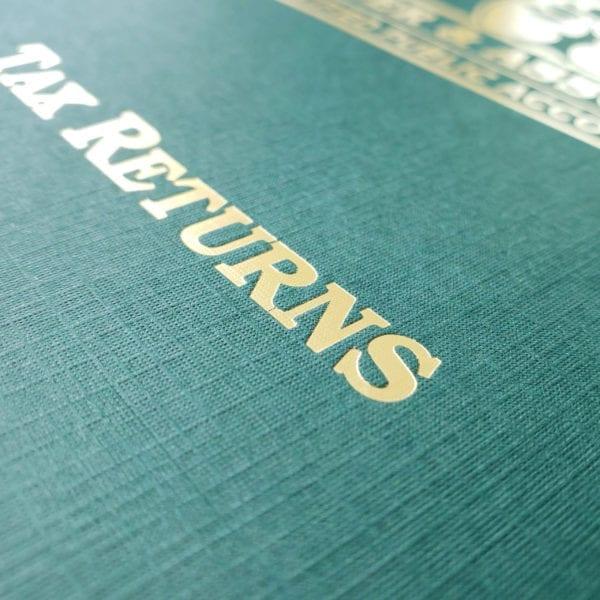luxury business presentation folders