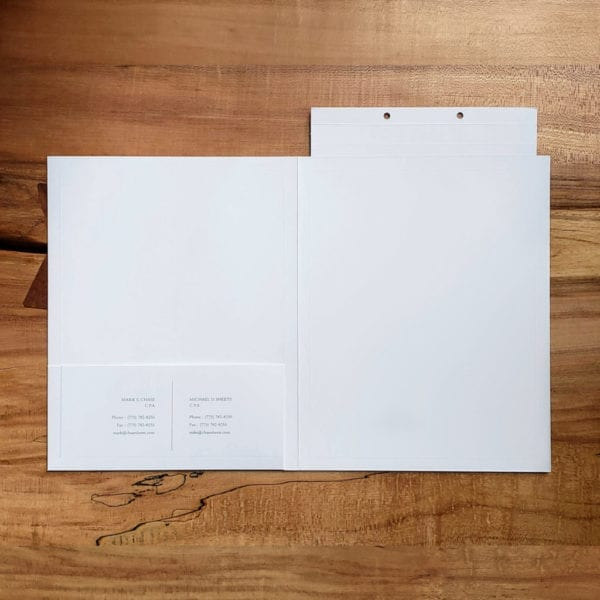 luxury high-end business and presentation folders
