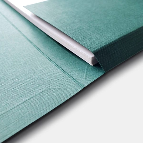 Single pocket professional folders