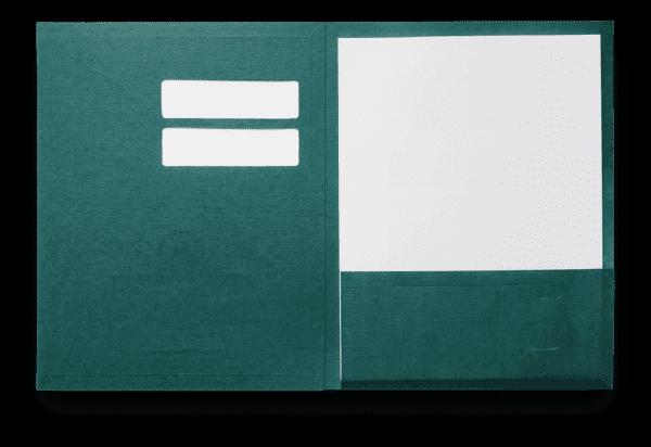 Conformer business presentation pocket folder