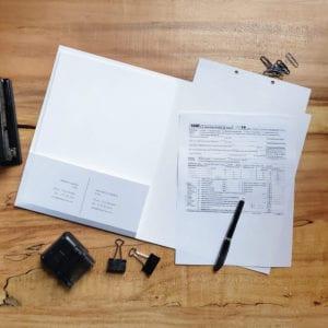 High-end business folders