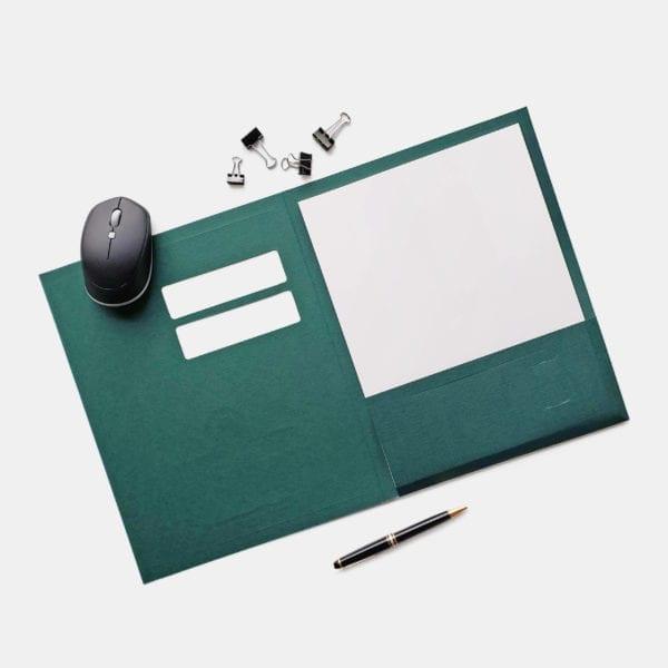 luxury linen conformer business folders