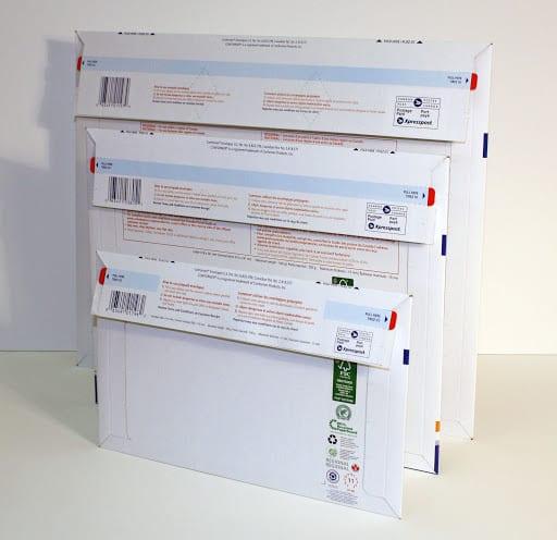 Professional conformer mailer envelopes shipping mailing