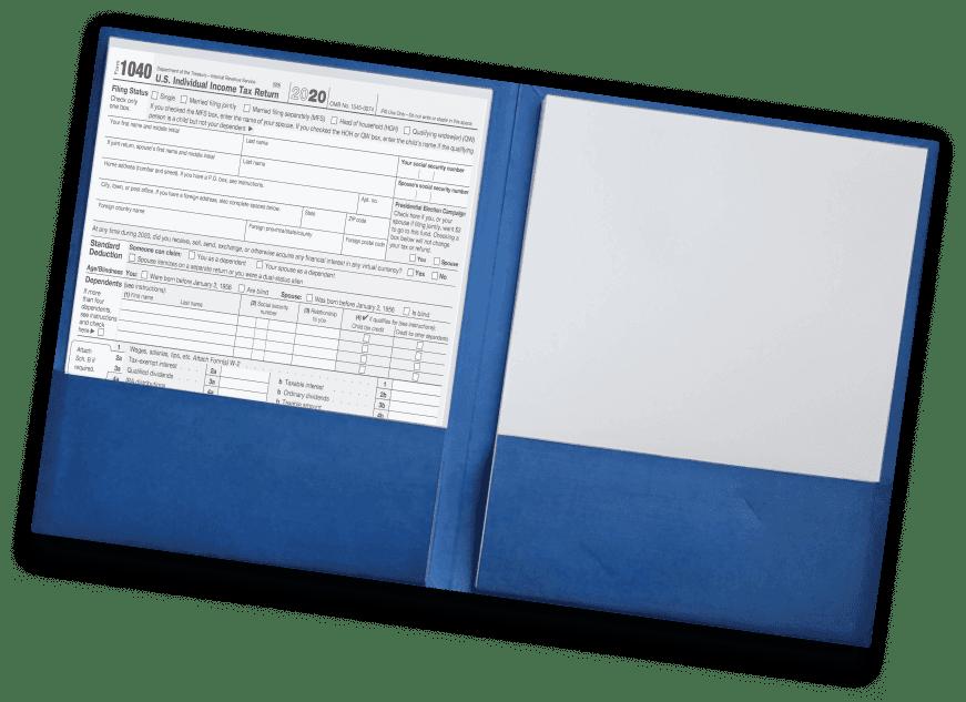 premium cpa presentation folder