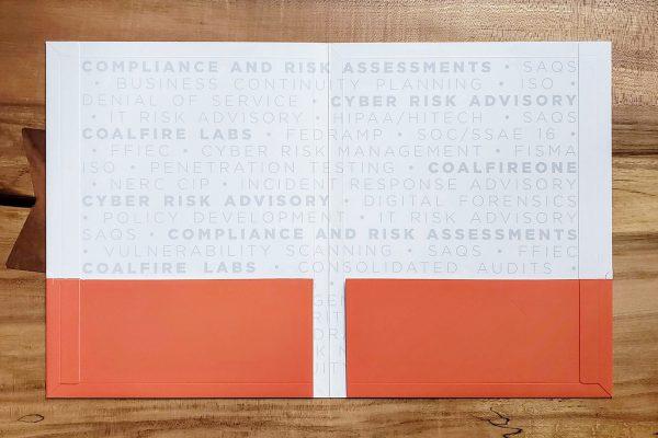 High-end twin pocket folder
