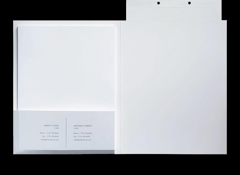 Custom tax folders for tax accountants